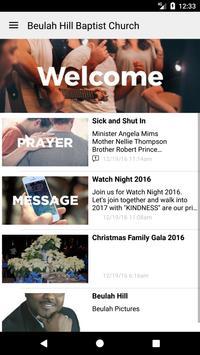 Beulah Hill Baptist Church apk screenshot