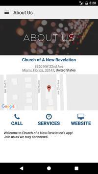 Church of A New Revelation apk screenshot