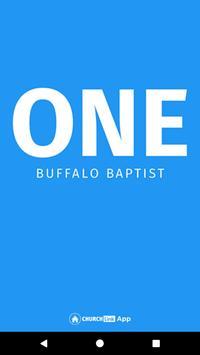 ONE Buffalo Baptist Church poster
