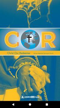 COR AME Church poster