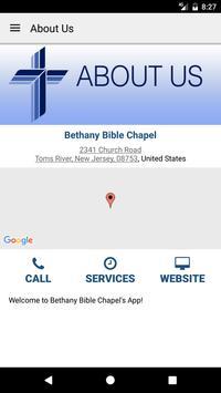 Bethany Bible Chapel apk screenshot