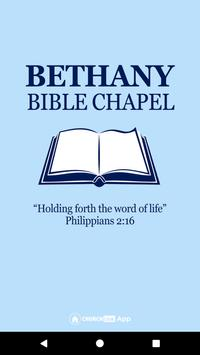 Bethany Bible Chapel poster