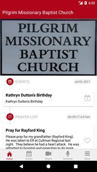 Pilgrim Baptist Church apk screenshot