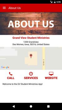 Grand View Student Ministries apk screenshot