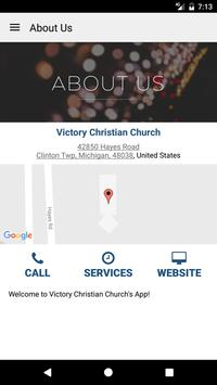 Victory Christian Clinton Twp apk screenshot