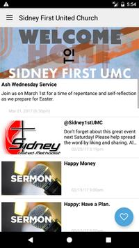 Sidney First UMC screenshot 1