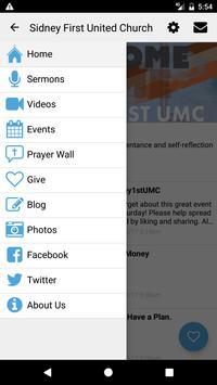 Sidney First UMC screenshot 2