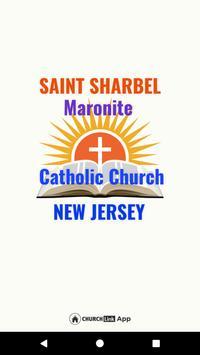 Saint Sharbel poster