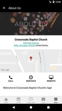 Crossroads Baptist RIFLE apk screenshot