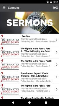 Int'l Good News Fellowship apk screenshot