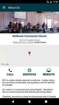 Bellbrook Community Church apk screenshot