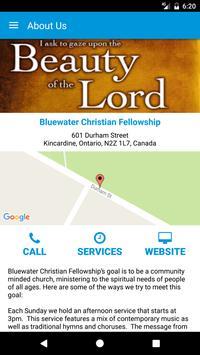 Bluewater Christian Fellowship apk screenshot