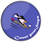Pedometer Steps Counter icon