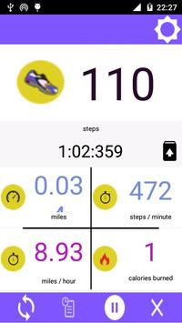 Pedometer Steps Counter screenshot 2