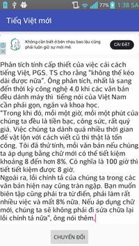 Tiếng Việt mới - chuyển đổi tiếng việt screenshot 3