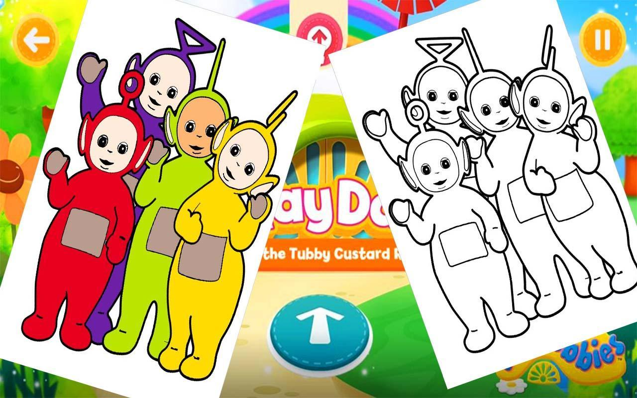 Teletubbies Coloring For Android APK Download