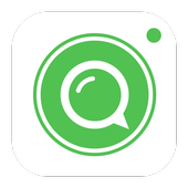 Alien chat - Random video call icon