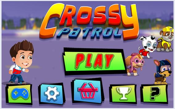 Super Crossy Paw Road poster