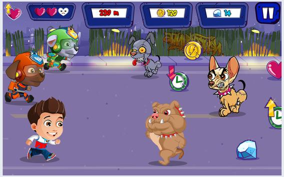 Super Crossy Paw Road screenshot 7