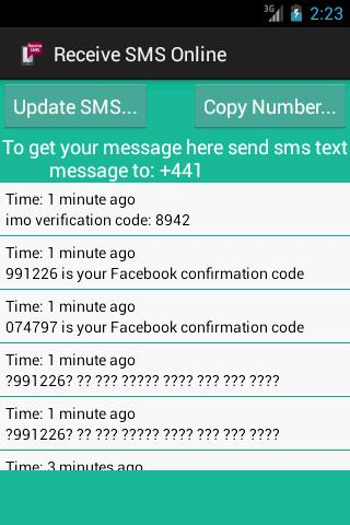 Receive SMS Online for Android - APK Download