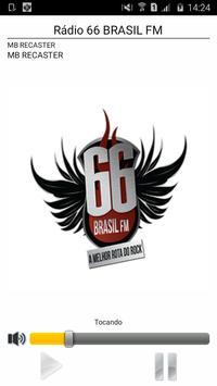 66 BRASIL FM poster