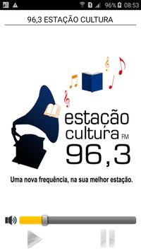 96,3 ESTAÇÃO CULTURA poster