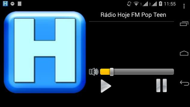 Rádio Hoje FM Pop Teen poster