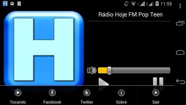 Rádio Hoje FM Pop Teen screenshot 1