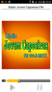 Rádio Jovem Capoeiras FM poster