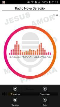 Rádio Nova Geração screenshot 1