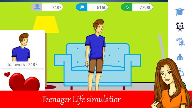 Teenager Life - Free screenshot 1