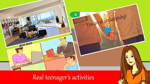 Teenager Life - Free screenshot 2