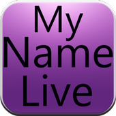 My Name Live Wallpaper Final icon