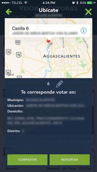 Visor Electoral apk screenshot