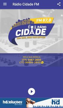 Rádio Cidade FM 87,9 apk screenshot