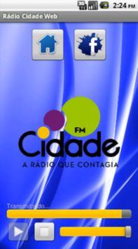 Rádio Cidade Web apk screenshot