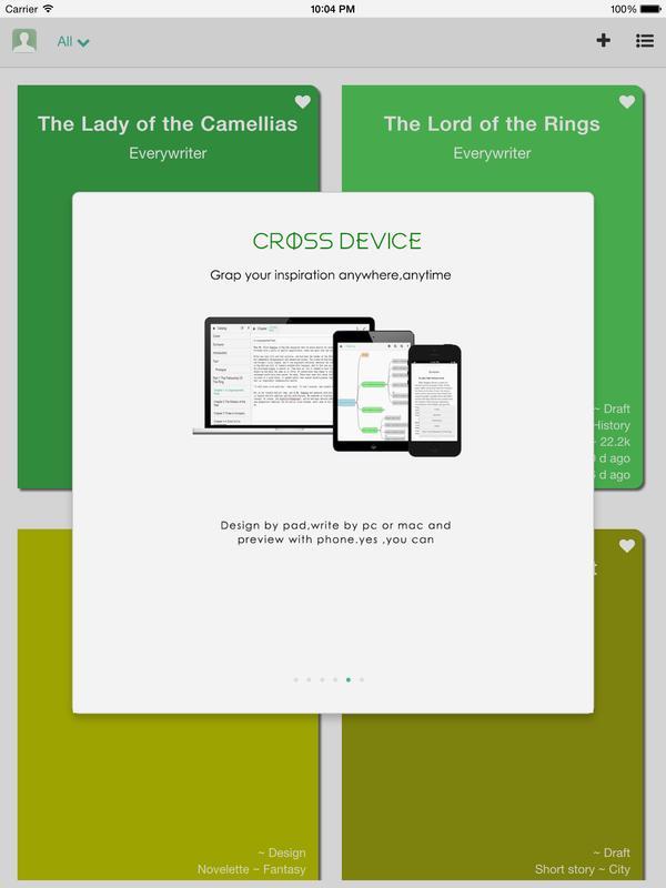 novel writing apk apps