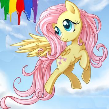 Paint Little Pony poster