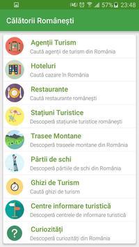 Călătorii Românești apk screenshot