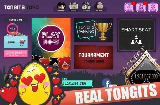Tongits Tayo (Pinoy Game) apk screenshot