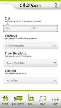 ciloly Echtzeit Frachtenbörse screenshot 1