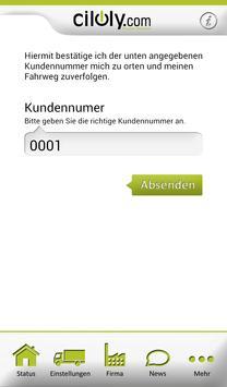 ciloly Echtzeit Frachtenbörse screenshot 2
