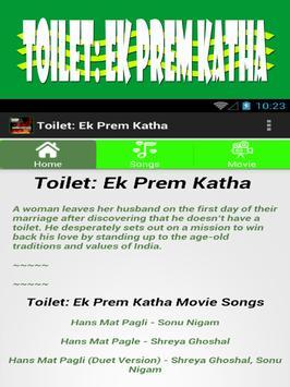 Toilet Song Ek Prem Katha apk screenshot