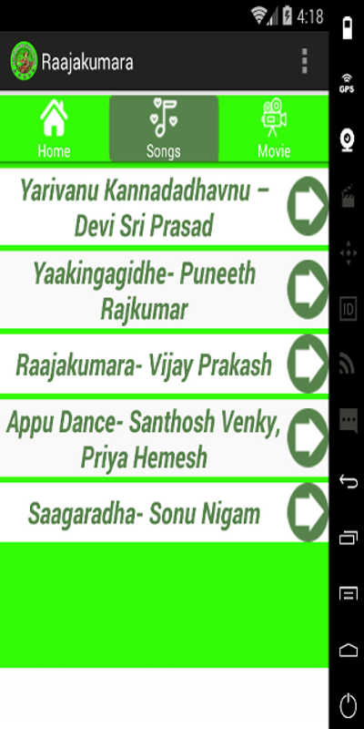 appu kannada movie video songs free download