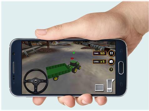 Tractor Concrete Excavator 3D apk screenshot