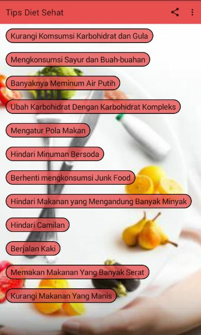 Tips Diet Sehat For Android Apk Download