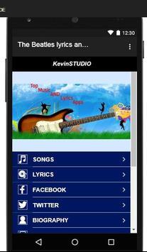 The Beatles Lyrics and songs screenshot 2