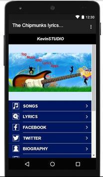 The Chipmunks Lyrics and songs screenshot 2