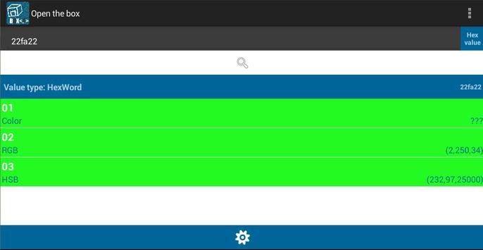 Open the Box (Unit Converter) screenshot 10