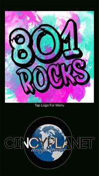 801 Rocks poster